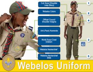 Webelos Scout Uniform