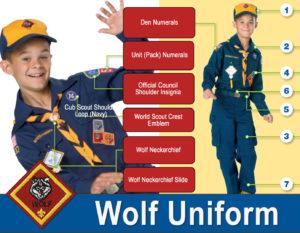 Wolf Scout Uniform