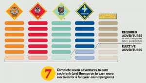 Cub Scout Adventure Requirements