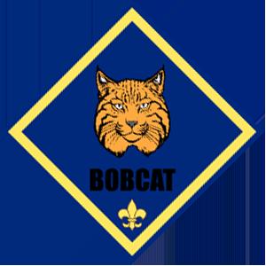 Cub Scout Bobcat badge