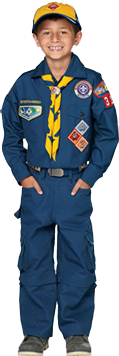 Cub Scout Wolf Uniform