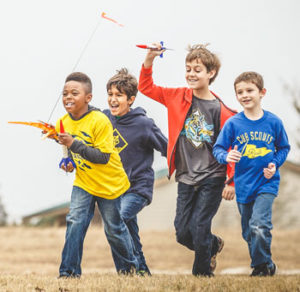 Rocket Into Scouting - Join Cub Scouts